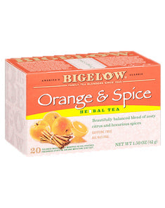 Bigelow Orange & Spice Tea