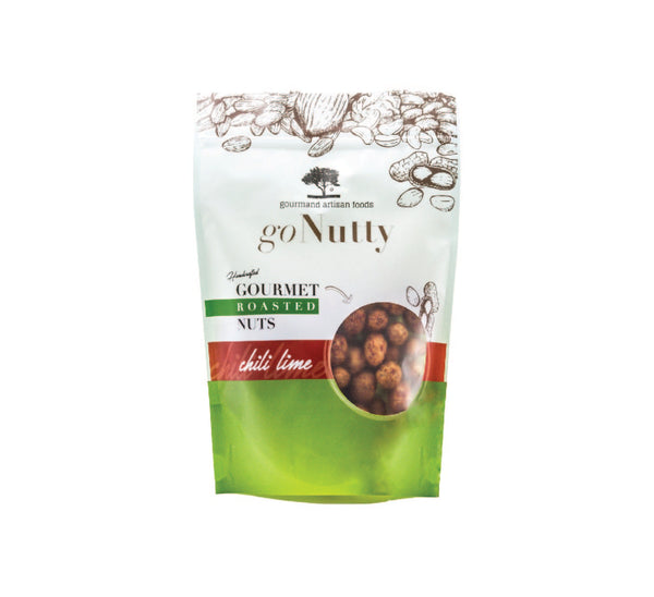 GoNutty: Chili Lime Gourmet Peanuts