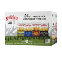 Boulder Kettle Chips: Variety Pack