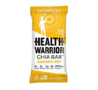 Health Warrior: Banana Nut Chia Bar