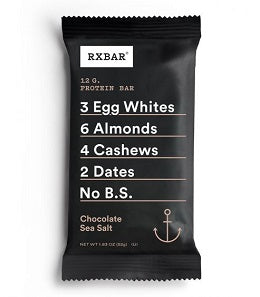 Rx Bar: Chocolate Sea Salt