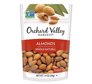 Orchard Valley Almonds: Raw