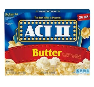 Act II Butter Popcorn