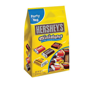 Hersheys Miniature Chocolates, Assorted