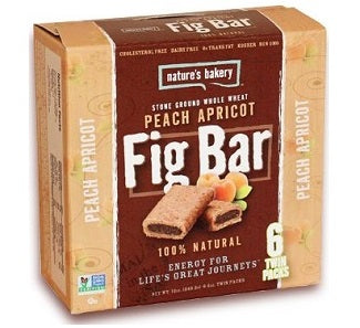 Natures Bakery Figbar: Peach Apricot