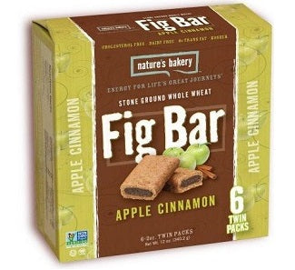 Natures Bakery Figbar: Apple Cinnamon