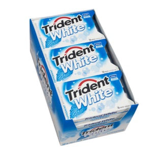 Trident Gum: White Peppermint