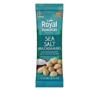 Royal Hawaiian: Macadamia Nuts with Sea Salt