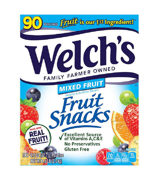 Welch's Fruit Snacks: Mixed Fruit