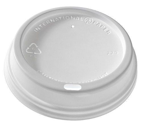 12oz Dome Lid (LHRDS16) (Sleeve)