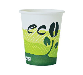 12oz Eco Hot Paper Cups (Sleeve)