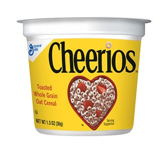 Cereal Cups: Cheerios
