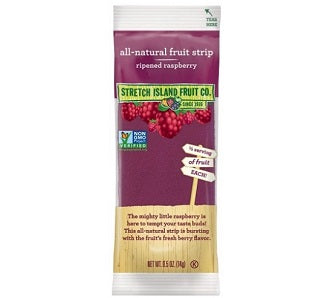 Stretch Island Fruit Leather Raspberry 30/.5oz