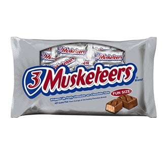 3 Musketeers (Fun Size)