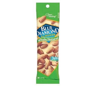 Blue Diamond Almonds Natural 12 pk