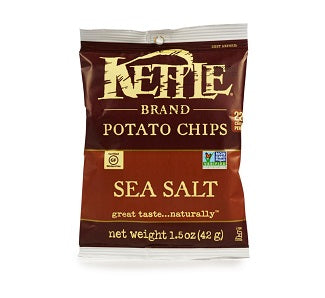 Kettle Chips: Sea Salt