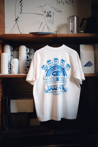 DEEP X PR T-SHIRT - WHITE