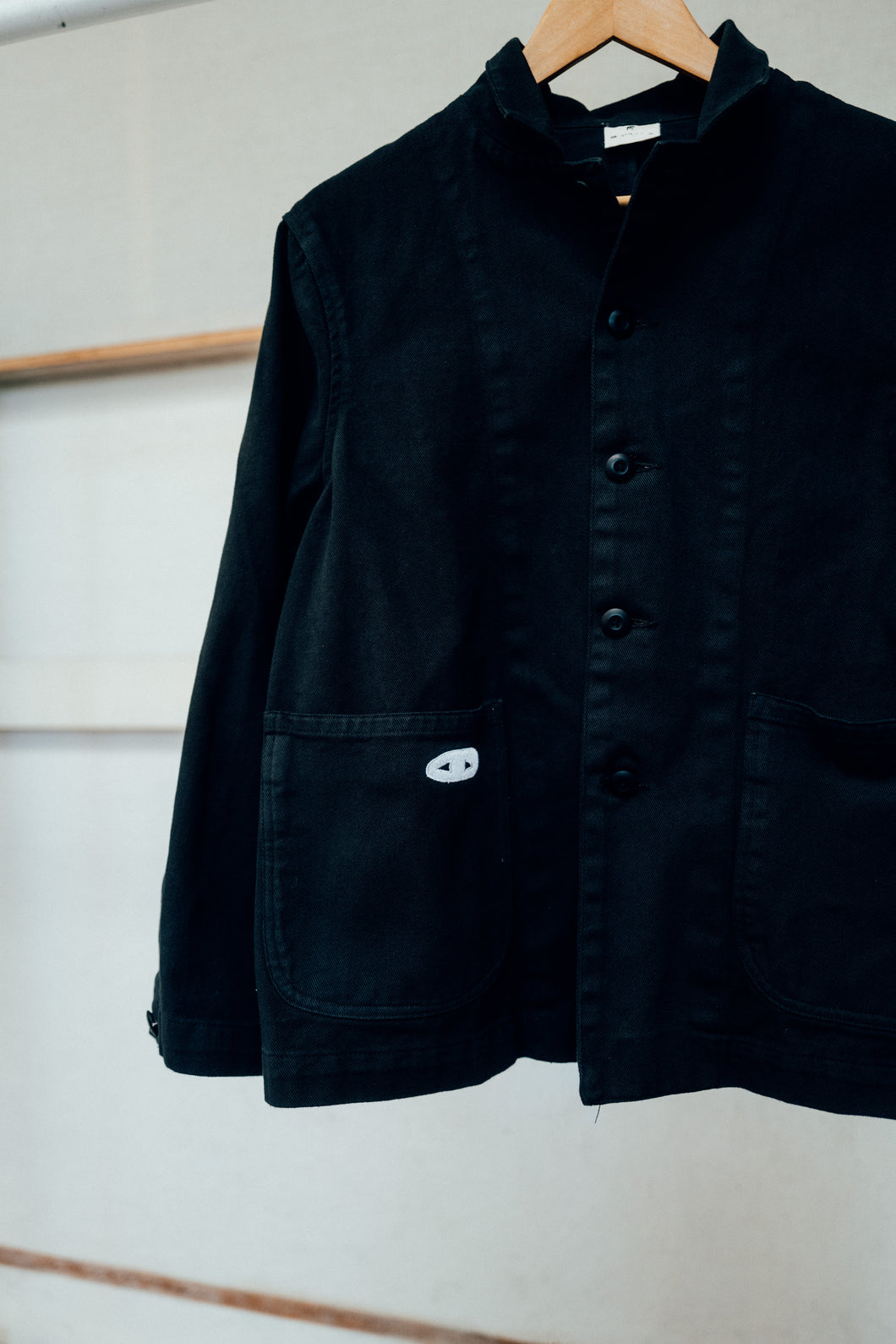 PR RECYCLED WORK JACKET - FADED BLACK