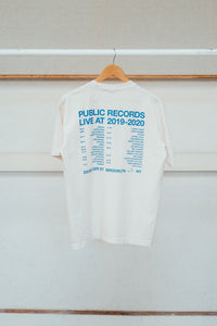 LIVE AT T-SHIRT - CREAM