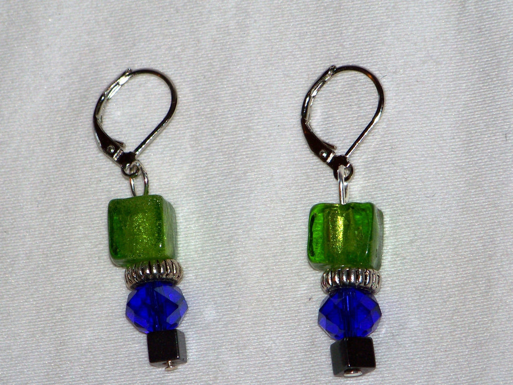 Seattle Seahawks Colors Earrings