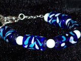 Cobalt Artisan Necklace Set
