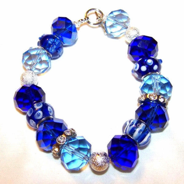 Blue Eye Crystal Bracelet