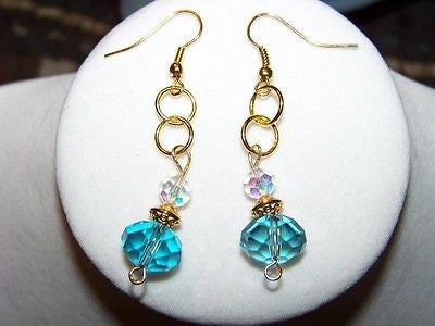 Vintage Aurora Borealis Earrings
