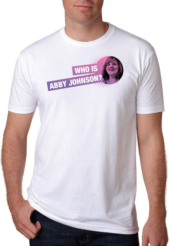 Who is Abby Johnson Tee (White)