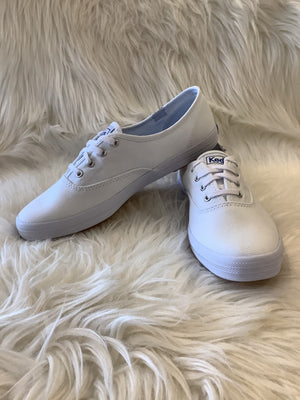 Keds Champion White Canvas Sneaker