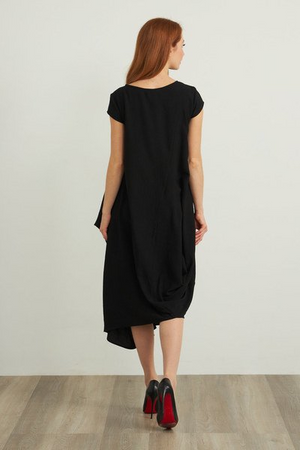 Joseph Ribkoff Short Sleeve Maxi Dress