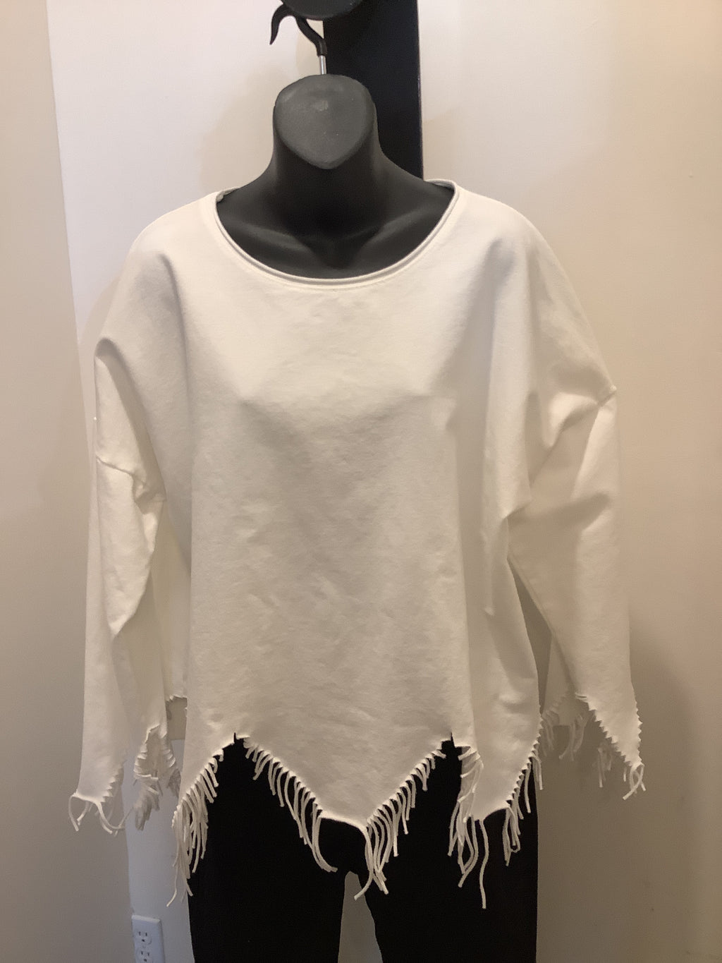 Bella Amore On Trend Fringed Top