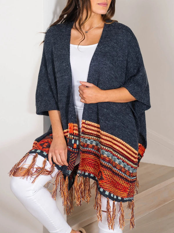 boho casual cardigan sweater