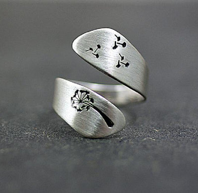 Silver Vintage Alloy Rings