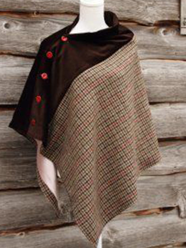 Casual Checkered/plaid Unisex Scarves & Shawls