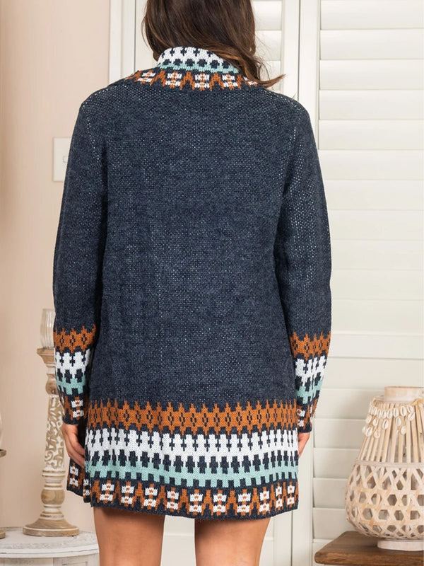boho cardigan casual sweater