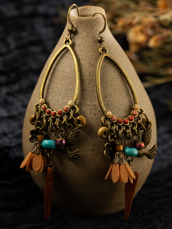 Boho Alloy Vintage Earrings