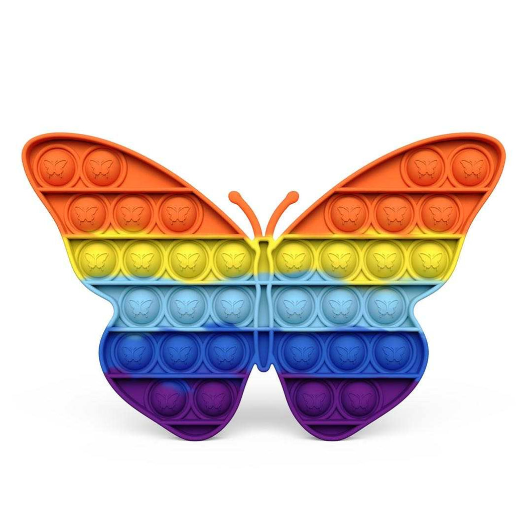 Rainbow Butterfly Pop It
