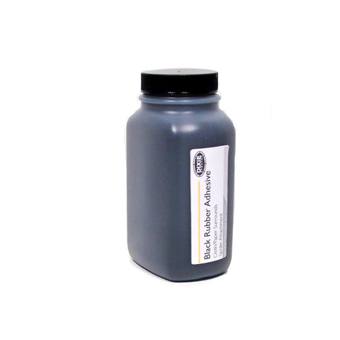 Black Rubber Adhesive -- 8 oz for Cloth/Paper Surrounds and Spider Attachments