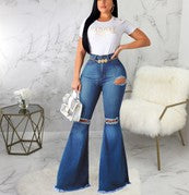 Load image into Gallery viewer, Flare Leg Jeans