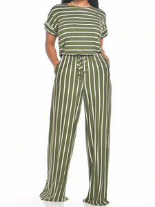 Joy Jumpsuit (Olive)