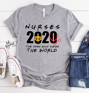 Nurse 2020 Hero T-Shirt