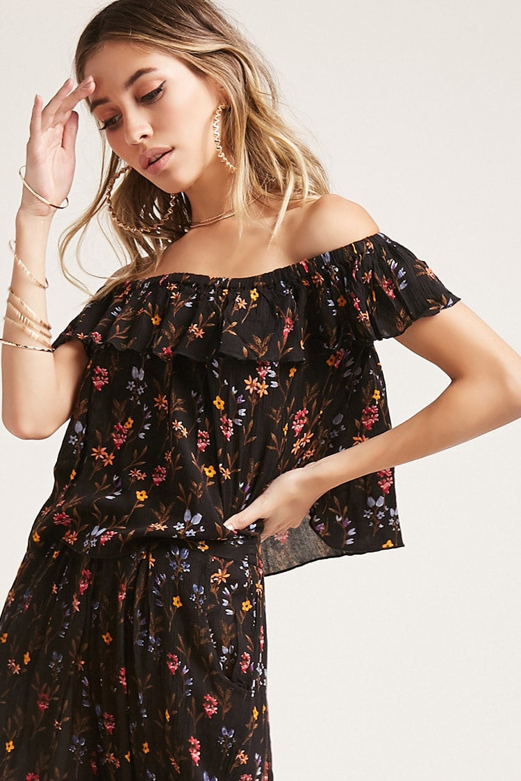 The Wild Floral Top