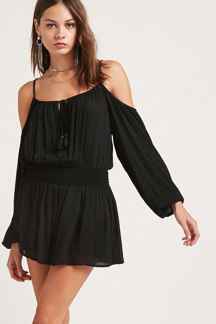 Open Shoulder Romper