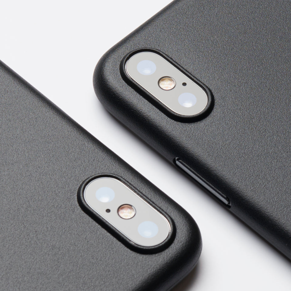 chimpcase iPhone X Skinny Case - matte black