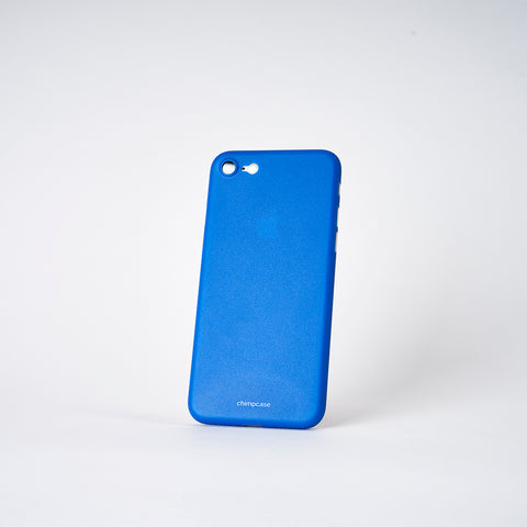 chimpcase iPhone 8 Skinny Case - solid blue