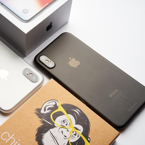 chimpcase iPhone X-S Skinny Case - frosty black