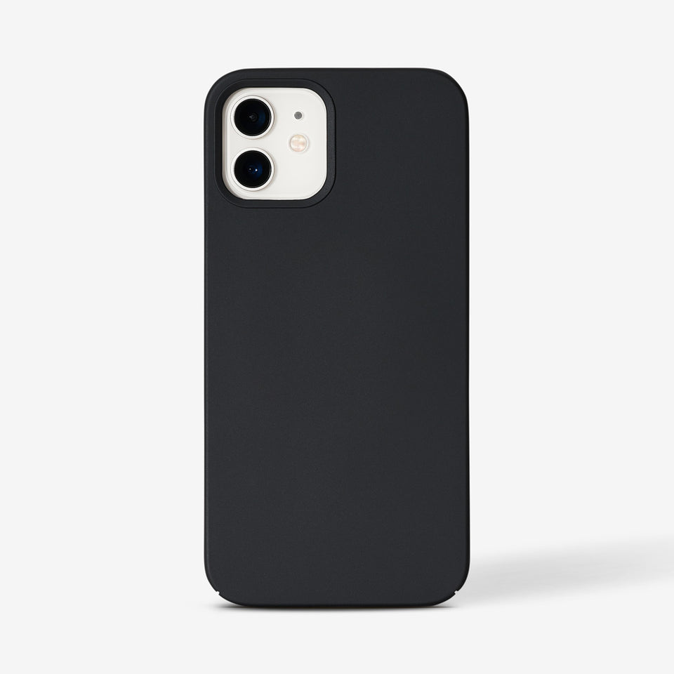 Magnetisches Slim iPhone 12 / 12 PRO Hard Case - black