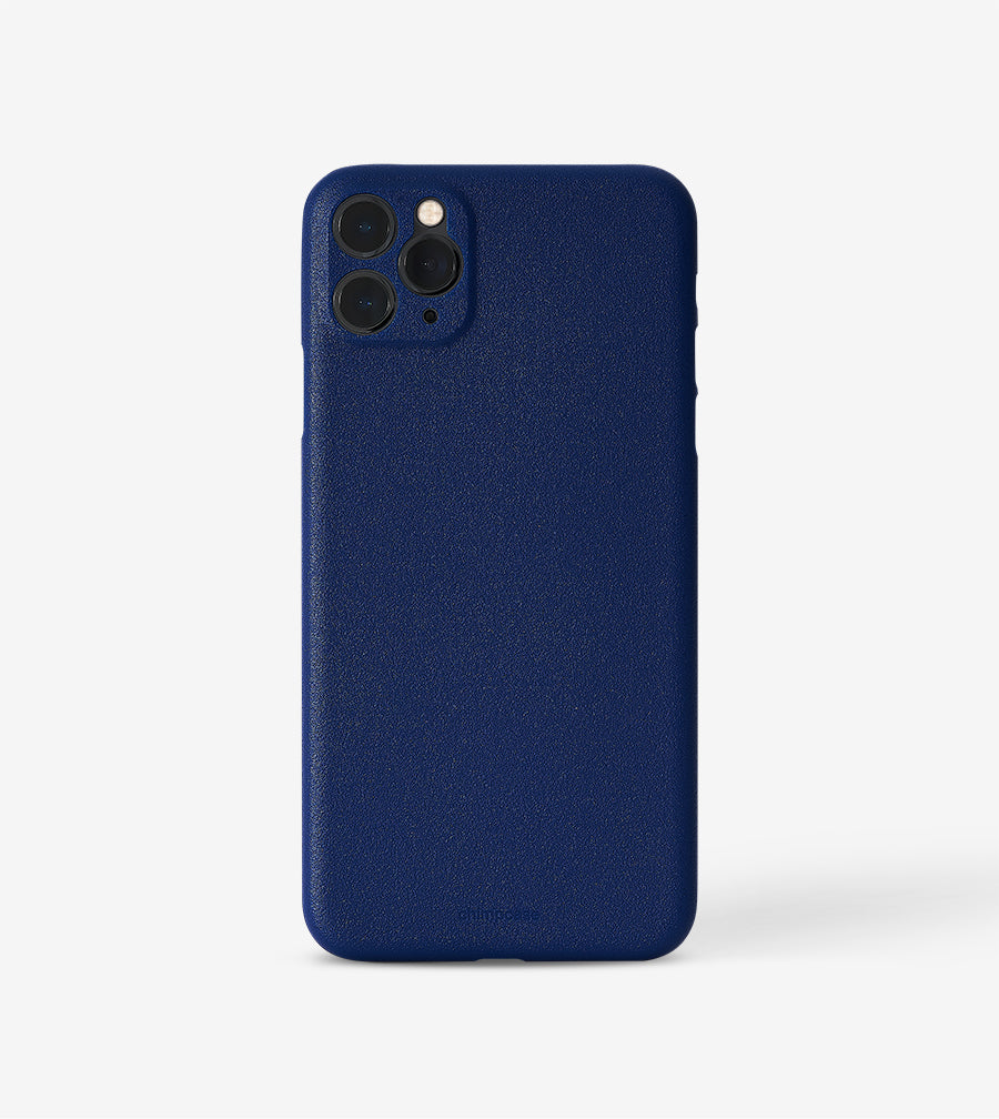 chimpcase dünnes iPhone 11 PRO MAX Skinny Case - blueberry