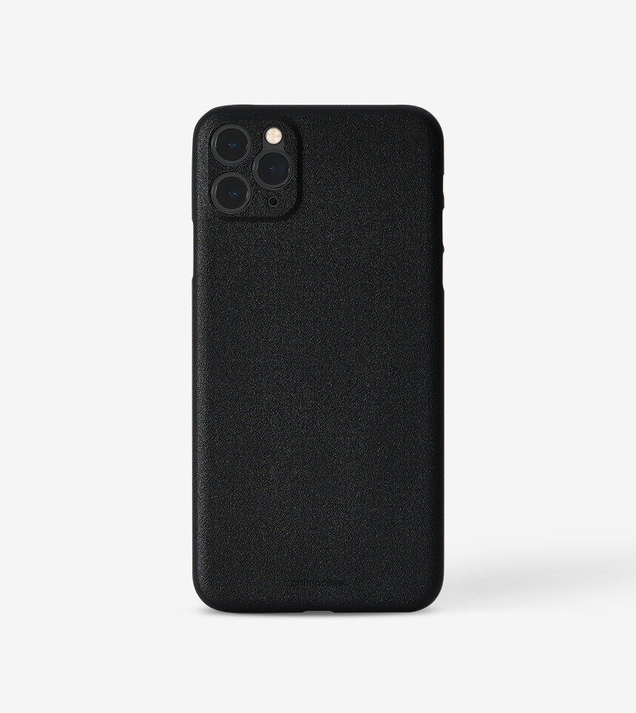 chimpcase dünnes iPhone 11 PRO MAX Skinny Case - solid black