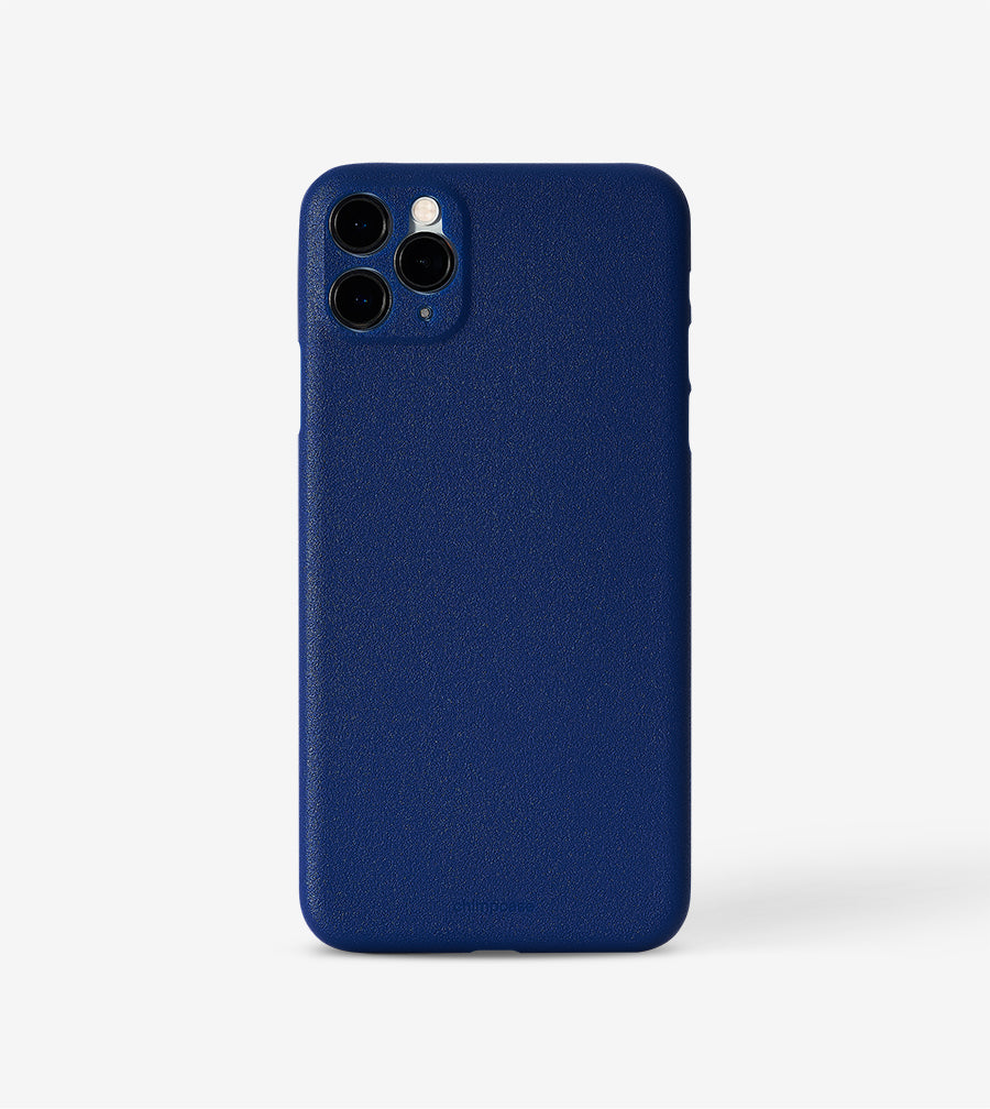 Ultradünnes iPhone 11 PRO MAX Skinny Case - blueberry